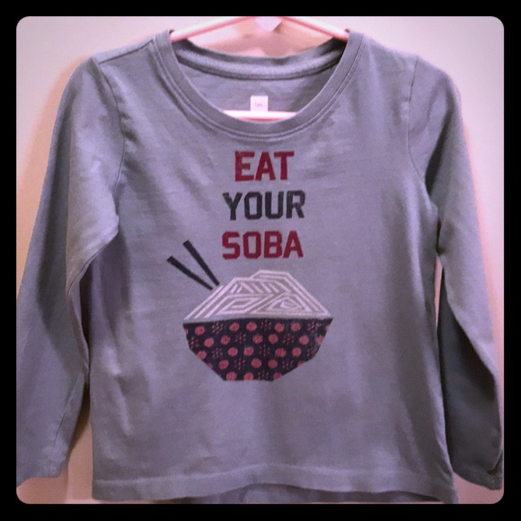 """Tea Collection Other - Tea """" Eat your Soba """" Top"""